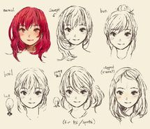 Inspiring picture cute, doodle, hair style, manga. Resolution: 1155x1031 px. Find the picture to your taste!