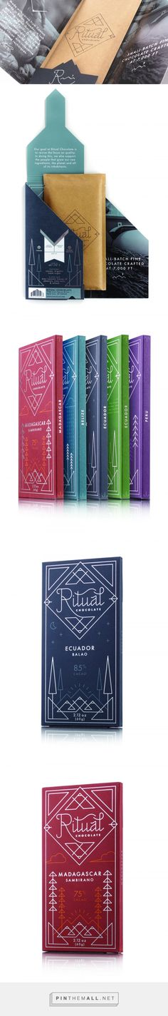 Ritual Chocolate — The Dieline - Branding & Packaging Design - created via https://pinthemall.net