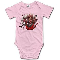 NORAL Babys Boy's/Girl's DamonSalvatore Romper Bodysuit Outfits Pink Size 24 Months ** Check this awesome image @