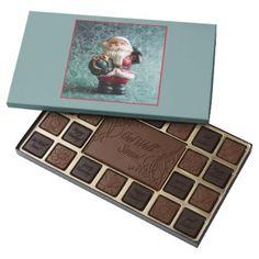 Small Santa Claus figure_R1 45 Piece Box Of Chocolates - Xmas ChristmasEve Christmas Eve Christmas merry xmas family kids gifts holidays Santa