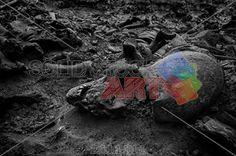 stock photo of mass grave of soldiers killed during world war ii kakhovka ukraine