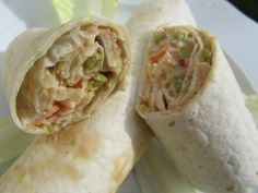Tacos de ensaladilla de lechuga Ana Sevilla con Thermomix
