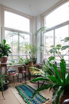 Beatrice Clarke and Alessandro Raschellà's apartment in Amsterdam / photo by Jordi Huisman
