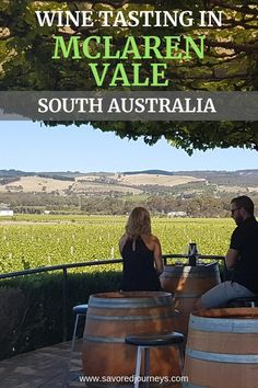 Just a short drive from us. Here's where to go wine tasting in McLaren Vale in South Australia Perth Australia, Visit Australia, Wine Australia, Australia Travel, Wine Tourism, Wine Vineyards, Australian Beach, Mexico Travel, Spain Travel
