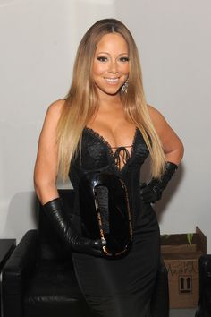 This is Mariah Carey, aka the Elusive Chanteuse, aka one of the most prolific female recording artists OF ALL TIME.