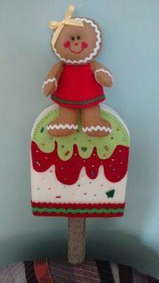 Aprende paso a paso cómo hacer adornos navideños en fieltro ~ lodijoella