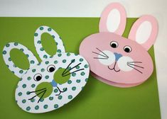 Veľkonočný pozdrav - zajac, Tvorenie z papiera, fotopostup - Artmama.sk Diy And Crafts, Arts And Crafts, Paper Crafts, Diy For Kids, Quilling, Pup, Xmas, Easter, Party