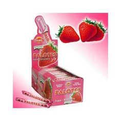 Chuches de siempre, palotes Nostalgia, My Childhood, Strawberry, Container, Fruit, Food, Memories, Vintage, Chewing Gum