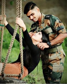 Image may contain: 2 people military couples, military girlfriend, army couple pictures, Military Couple Pictures, Military Couples, Military Love, Military Photos, Army Love Quotes, Indian Army Quotes, Military Couple Photography, Army Photography, Nature Photography