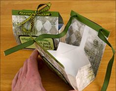 The Trees Blog hop  hosted by Club Scrap sent me in search of a super-quick and easy  fun project. I saw an idea for a gift box made from...