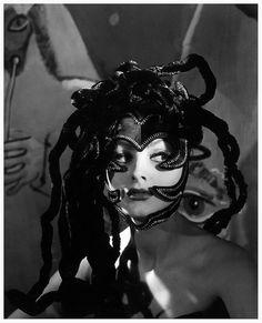 Medusa headdress worn by actress Ursula Thiess, 1949
