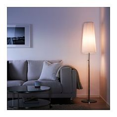 IKEA - IKEA 365+ LUNTA, Floor lamp with LED bulb, Diffused light that provides good general light in the room.As the light can be dimmed, you are able to choose lighting suitable for every occasion.Helps lower your electric bill because dimming the lights saves energy.