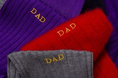 Monogrammed socks from Panterella #style