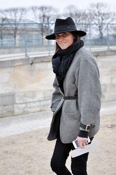 emmanuale alt outfit id | Les vestes ceinturées d'Emmanuelle Alt