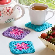 Single Square Coasters