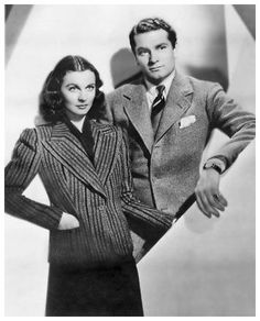 The golden couple of Hollywood's golden age - Vivien Leigh and Laurence Olivier.