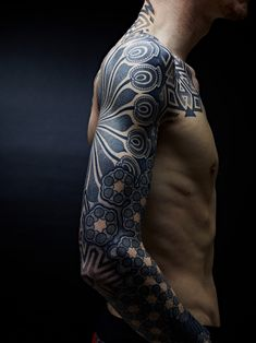 Geometric Tattoo Sleeve