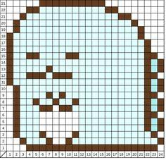 じつは恐竜の生き残り Perler Bead Designs, Perler Bead Art, Perler Beads, Pearl Beads Pattern, Hama Beads Patterns, Beading Patterns, Cross Stitch Charts, Cross Stitch Patterns, Fantasy Cross Stitch