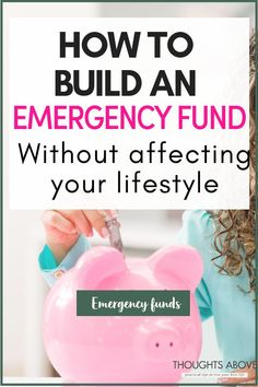 An emergency fund is designed to cover a financial shortfall when an unexpected expense crops up. But there is one question I get all the time. How do I build an emergency fund without affecting your lifestyle budget, or saving plans? In this post, there are 10   proven ways that you can use to build an emergency fund.#money #budget #savings #newyear #moneysavingtips #savemoney