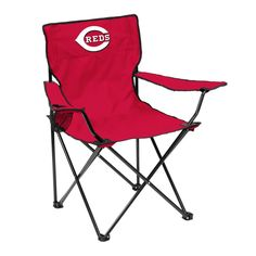 Cincinnati Reds Quad Chair - Logo Chair