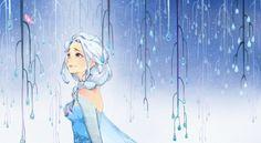 兔街  的插画 Elsa