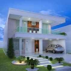"most amazing modern house exterior design ideas 18 > Fieltro.Net""> most amazing modern house exterior design ideas 18 > Fieltro. 2 Storey House Design, Bungalow House Design, House Front Design, Small House Design, Modern House Design, Modern Exterior, Exterior Design, Luxury Homes Dream Houses, Minimalist House Design"