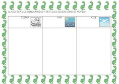 Bar Chart, Mario, School, Flower, Dinosaurs Preschool, Dinosaur Projects, Prehistory, 1st Grades, Activities