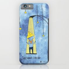 #printed #illustration on a #phone from #Society6 #shop #lastnight I #dreamt
