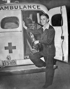 Texas ambulance 1940- Traces of Texas
