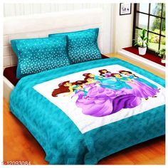 Checkout this latest Bedsheets Product Name: *Barvi Cotton Queen Size Double Bedsheet With Tow Pillow Cover * Fabric: Cotton No. Of Pillow Covers: 2 Thread Count: 250 Multipack: Pack Of 1 Sizes: Queen (Length Size: 100 in, Width Size: 90 in, Pillow Length Size: 27 in, Pillow Width Size: 17 in)  Country of Origin: India Easy Returns Available In Case Of Any Issue   Catalog Rating: ★4 (386)  Catalog Name: Classic Attractive Bedsheets CatalogID_2309028 C53-SC1101 Code: 373-12093084-798