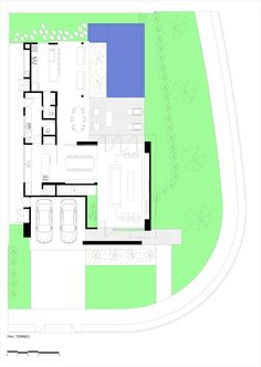 Imagem 26 de 28 da galeria de Casa X11 / Spagnuolo Architecture. Planta
