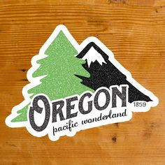 "In late 1960, Oregon introduced the ""Pacific Wonderland"" plate, which turned out to be it's only stamped ""slogan"" plate ever made. In 1961 Oregon went away from the metal year tabs and started using a"
