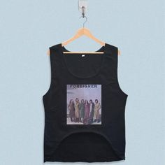 Women's Crop Tank - Foreigner Band Design with low price!Style Deals - We're always on the hunt for elevated basics, like this sleeveless top. It has a boxy cropped fit that will complement high-waisted skinny jeans and pencil skirts pe... Foreigner Band, Crop Tank, Tank Tops, Summer Design, Pencil Skirts, Tank Man, Skinny Jeans, Fit, Style