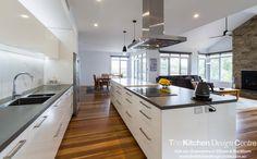 Warrandyte - The Kitchen Design Centre Kitchen Butlers Pantry, Butler Pantry, Island Range Hood, Family Kitchen, Kitchen Design, Storage, Modern, Projects, Centre