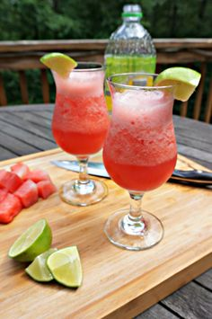 A light and refreshing combination of watermelon, lime and sparkling water. This beverage is the ultimate way to cool down on a hot summer day.