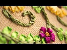 Puntada decorativa#34/Bordado a mano Con cintas o listón/ @conluzkita /Ribbon embroidery border - YouTube Friendship Bracelets, Youtube, Jewelry, Ribbons, Hand Embroidery, Chinese Embroidery, Chain Stitch, Creativity, Dots