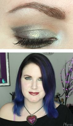 Phyrra created a quick and easy tutorial with the new Makeup Geek Duochrome eyeshadows Steampunk and Chameleon. This is great for hooded eyes but works for other eye shapes too!