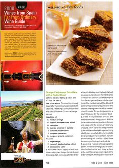 Ani Phyo Raw Food Food and Wine Magazine