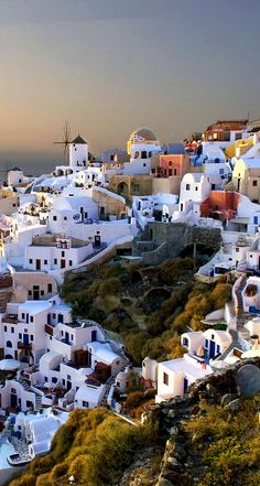 Village of Oia. Santorimi, Greece