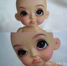 I LOVE this face sculpt lol :D I wonder which company makes it.. :/