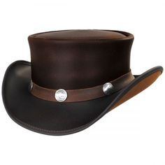 c1f5f459d8618 Voodoo Hatter Brand El Dorado Topper with Buffalo Nickle Band by ...