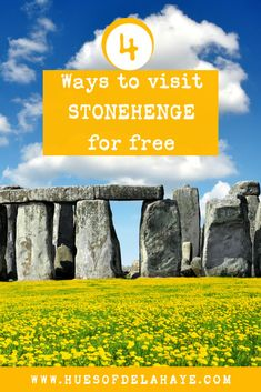 HOW to see stonehenge for free, stonehenge for free, visit stonehenge for free, How to visit Stonehenge for free, guide to visit Stonehenge England for free, Stonehenge day trip from London, Stonehenge guide