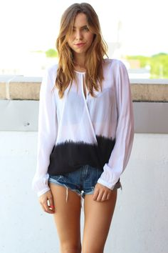"""fade"" in love with this ombré shirt"
