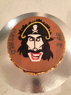 Kaptein sabeltann kake  steg for steg  tutorial pirate cake