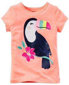 Toucan Bird Drawing Newborn Baby Newborn Short Sleeve T-Shirt 6-24 Month 5 Tops