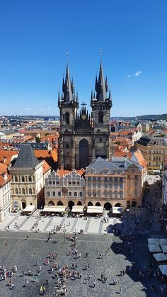 Church of Our Lady before Tyn, Prague - TripAdvisor Prague Old Town, Church Of Our Lady, Praha, Old Town Square, South Yorkshire, Fairytale Castle, Gothic Architecture, Old City, Byzantine
