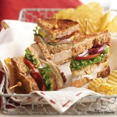 Gooseberry Patch Recipes: Layered Cobb Sandwiches