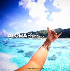 People wait all week for Friday, all year for summer, and all life for happiness... Insert a little Aloha in your life, and live for today : )
