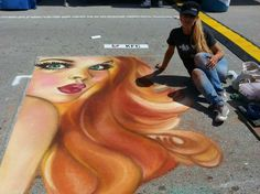 August 31-September 2, 2013: See chalk masterpieces & compete in the annual chalk art competition at Marietta ChalkFest in #Georgia!