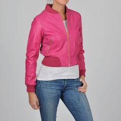 1770b7100c8e3 Knoles  amp  Carter Women s Plus Size Perforated Bomber Jacket
